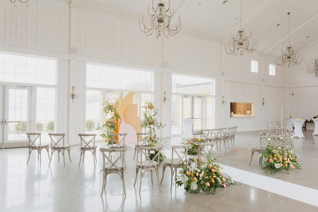 COVID Safe Wedding Example-Ceremony Seating